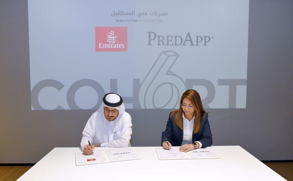 طيران الإمارات تعتمد الذكاء الإصطناعي مع 3 فرق من مسرعات دبي المستقبل
